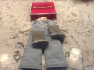 AMERICAN GIRL CHRISSA'S SNOW OUTFIT