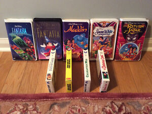 DISNEY VHS CLASSIC MOVIES