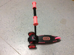 Pink little tikes scooter