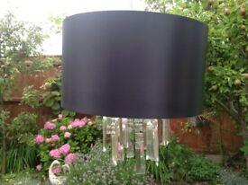 Crystal style lamp shade