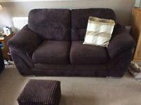 Sofas 2 seater x 2