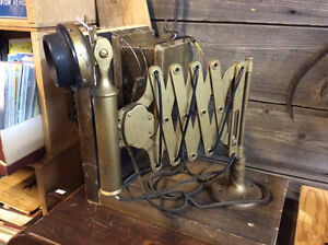 Rare Northern Electric Scissor phone with box & headset