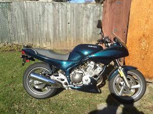 Yamaha seca ll