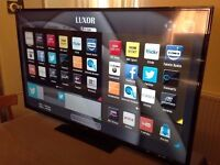 LUXOR 50 inch Smart LED FULL HD TV built-in Wifi, Freeview HD Ex Display