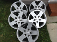 17inch rim, center cap and sonsors