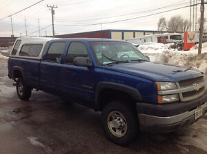 2003 Chevrolet Silverado 2500 HD Extended Cab 2WD Pickup Truck