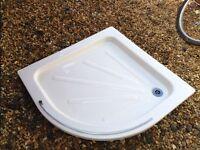 Merlyn corner shower enclosure & tray. 900 x 900