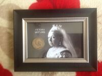 Queen Victoria coin picture