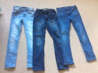 Boys jeans age 10-11 and 11-12