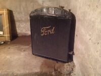 Old Ford Radiator