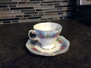 Vintage Foley Tea Cup and Saucer