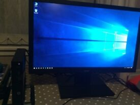 HP PC and Monitor