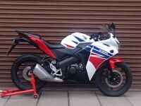 Honda CBR 125 2015. Only 8607miles. Nationwide Delivery Available.