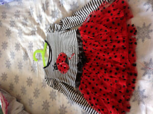 Girls Size 6x Love Bug Ladybug Shirt