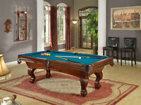 The Silhouette 8' Pool table