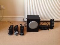 Logitech X-530 Stereo Surround Speakers for PC