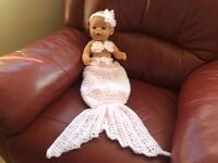 HAND MADE FOR NEW BORN OR DOLL