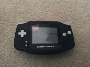 Rare Nintendo Gameboy Advance handheld systems