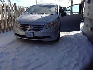 2013 Honda Odyssey EX-L Minivan, Van