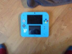 Nintendo 2ds Pokémon version case and game