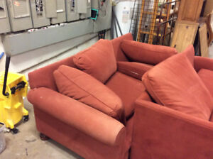 Down-Filled Sectional