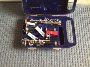 Clarinet and case