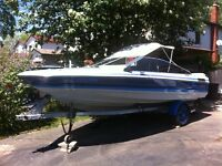 Bayliner Capri 18ft Bow Rider With OMC Cobra Inboard