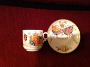 Edward VIII commemorative cup and saucer