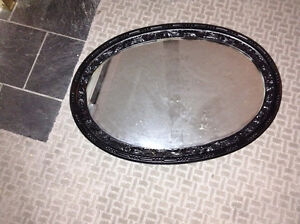 Black decorator mirror for sale