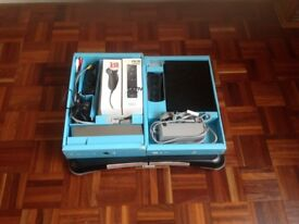 Nintendo Wii Fit Plus with additional accessories