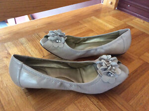 Souliers taupe