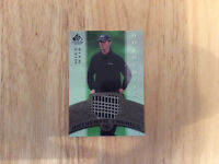 2005-06 sp signature golf authentic fabrics #af-mw Mike Weir