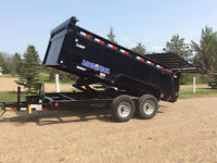 Total hyd 14 foot dump trailer for rent
