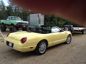 2002 Ford Thunderbird convertible with hard top (premium)