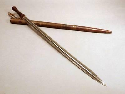 Antique African Sword Congo Shi Long Dagger-Knife Zimbabwe's