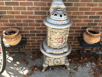 Antique wood or Coal Burning Stove