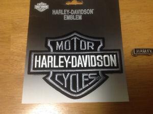 Harley Davidson Patch and Pin.  15$ St. John's Newfoundland image 1