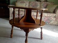 Heywood Wakefield Mid Century , Solid Maple  table