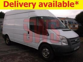 2013 Ford Transit 125 T350 RWD 2.2 DAMAGED REPAIRABLE SALVAGE