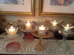 Dessert Trays and Candle Holders