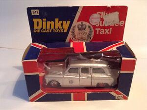 DINKY JUBILEE SILVER TAXI 1977