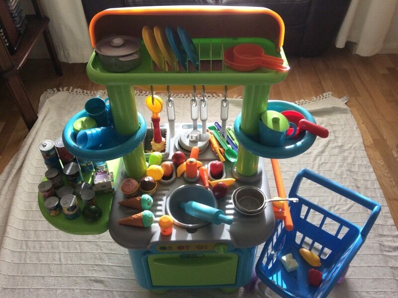 Elc Sizzlin Kitchen And Toy Bundle Purchase Sale And