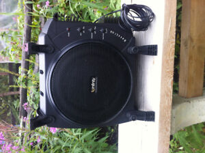 """infinity 10"""" powered subwoofer, enclosed"""