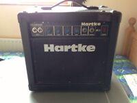 HARTKE B150 ELECTRIC GUITAR BASS AMPLIFIER