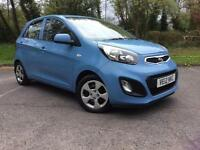 Kia Picanto 1.0 ( 68bhp ) AIR 2011MY Picanto Free Road Tax Cheap Small Car