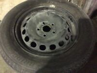 VOLKSWAGEN CADDY OR GOLF WHEELS AND TYRES