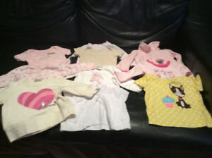 BABY CLOTHES AVAILABLE  FROM 0 TO 18 MTHS