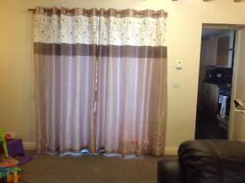 Curtains - lined