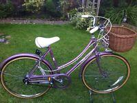 Retro Raleigh caprice Dutch loop bike