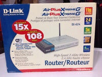 Router D-Link DI-624 802.11g